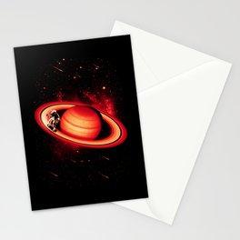 SATURN SKATING Stationery Cards