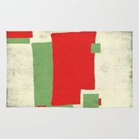 square Area & Throw Rugs featuring Square by Difilippo