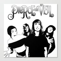 pierce the veil Canvas Prints featuring Pierce The Veil best gift by customgift