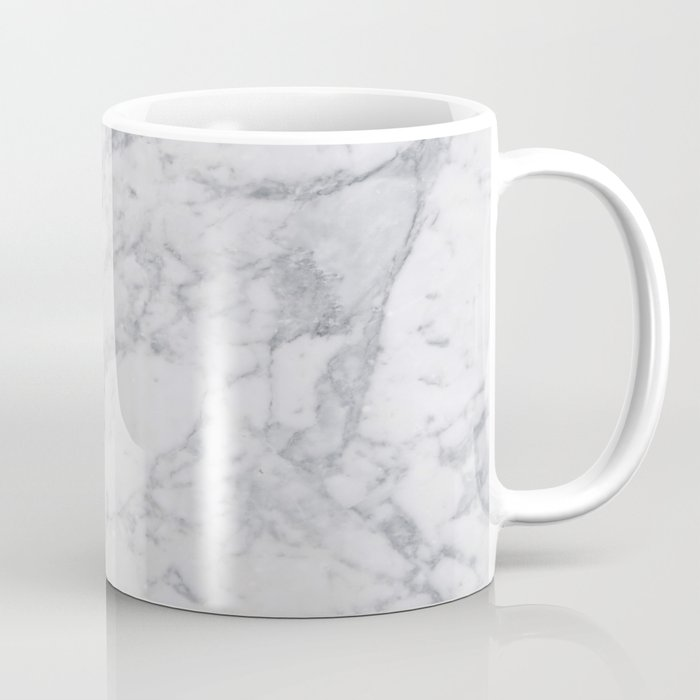 White Marble Coffee Mug