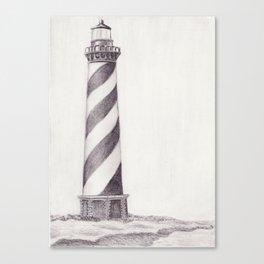 Cape Hattaras Lighthouse Canvas Print