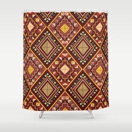 Saputangan - an Indigenous Filipino Tapestry Shower Curtain