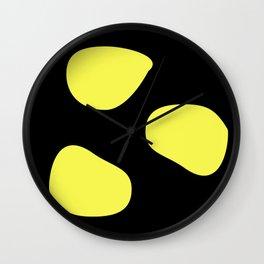 Yellow  dot Wall Clock