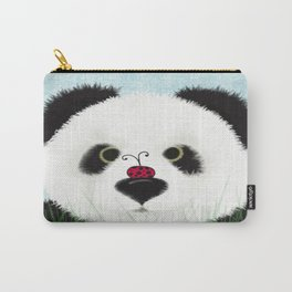 The Panda Bear And His Visitor Carry-All Pouch
