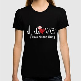 Nurse Love Womens Relaxed T-Shirt T-shirt