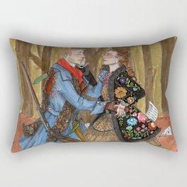 Lensky and Olga Rectangular Pillow