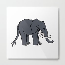 Elephant monster Metal Print