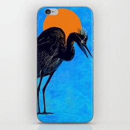 Heron iPhone Skin