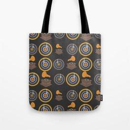 Gramophone and vinyls Tote Bag