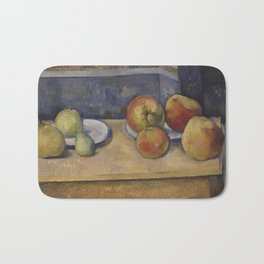 Still Life With Apples and Pears Bath Mat