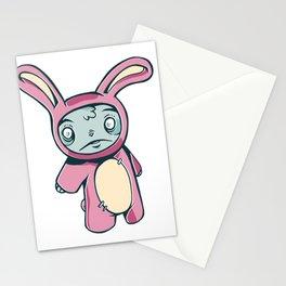 Sadly Zombie Rabbit Stationery Cards
