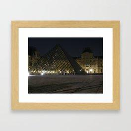 Nuit Framed Art Print