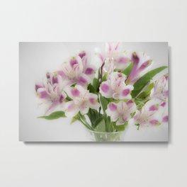 Floral Refreshment Metal Print