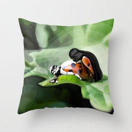 The strength of nature Throw Pillow