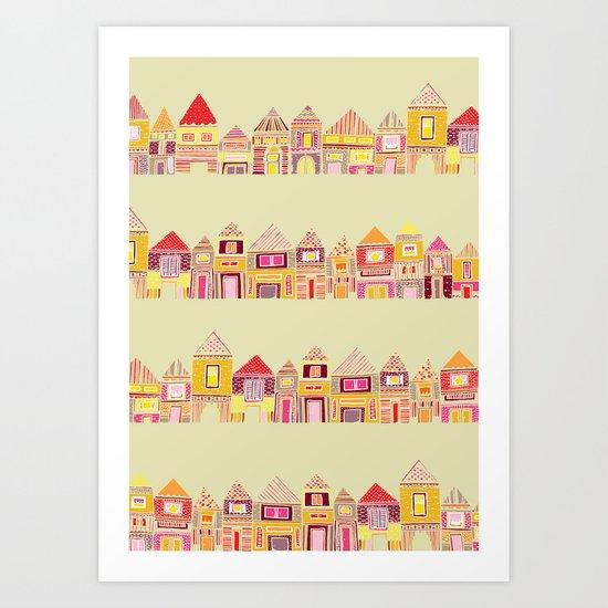 Batim Art Print