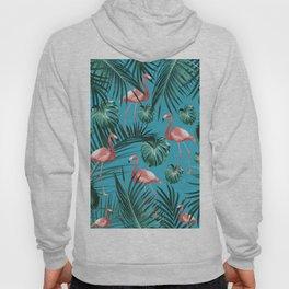 Tropical Flamingo Pattern #8 #tropical #decor #art #society6 Hoody