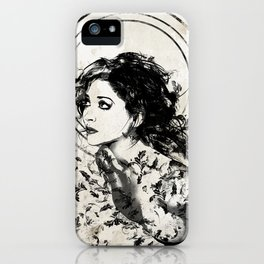 Little Whispers iPhone Case