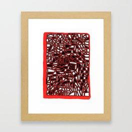 Landorms Series - StoneRoses #12 Framed Art Print