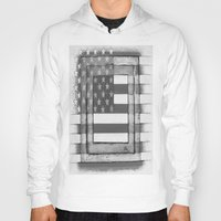 american flag Hoodies featuring American Flag by Steve Hester