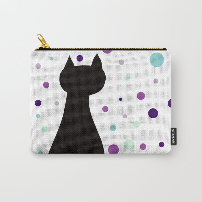 Black Cat Party! Carry-All Pouch