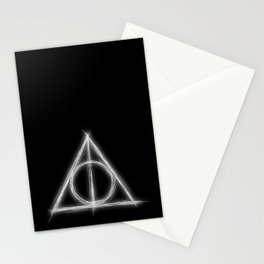 Deathly Stationery Cards