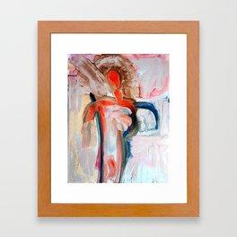 Vermillion Angel  Framed Art Print