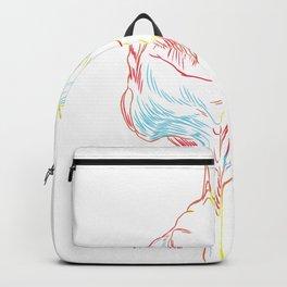 Stroke Iguana Backpack