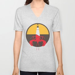 Lobster House Unisex V-Neck