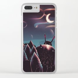 • • Clear iPhone Case