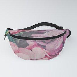 Pastel pink hydrangea Fanny Pack