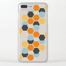 Sam (Beige) Clear iPhone Case
