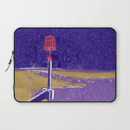 Seaview Fire Beacon in Purple Laptop Sleeve