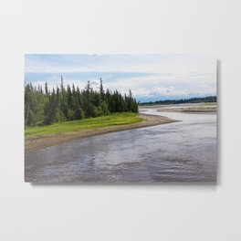 Alaskan River Metal Print