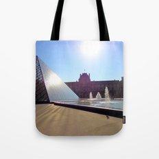 Louvre Paris Tote Bag
