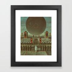 FULL CIRCLE (everyday 01.07.17) Framed Art Print