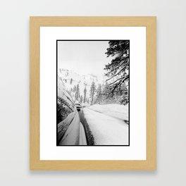 Alpine Reflection Framed Art Print