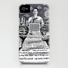 on the road - kerouac  iPhone (4, 4s) Slim Case