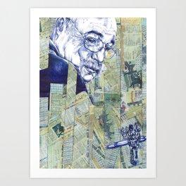 Oncle Quinté Art Print