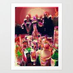 coctail party Art Print