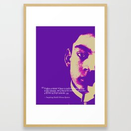 Most Inspiring Kahlil Gibran Quotes - 19 Framed Art Print