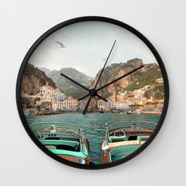 Amalfi Coast Wall Clock