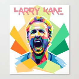 Harry Kane World Cup 2018 Edition Canvas Print