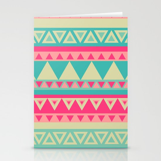 Tropical Tribal Stationery Cards