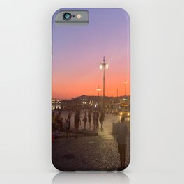 Living Vicariously on a Portuguese Beach iPhone Case