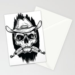 Outlaw's Skull Stationery Cards