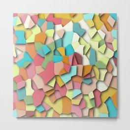 mosaic chaos Metal Print
