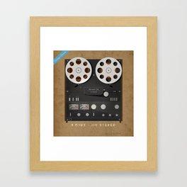 Reel to Reel Sojuz Framed Art Print