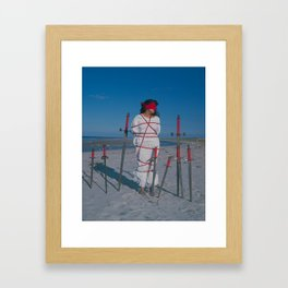 8 of Swords Framed Art Print