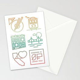 Someone Loves You: San Francisco Stationery Cards