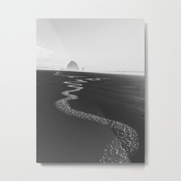 Haystack Rock #3 Metal Print